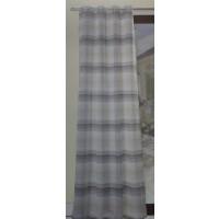 Pannello tenda con borchie Tasmania beige-grigio soggiorno camera