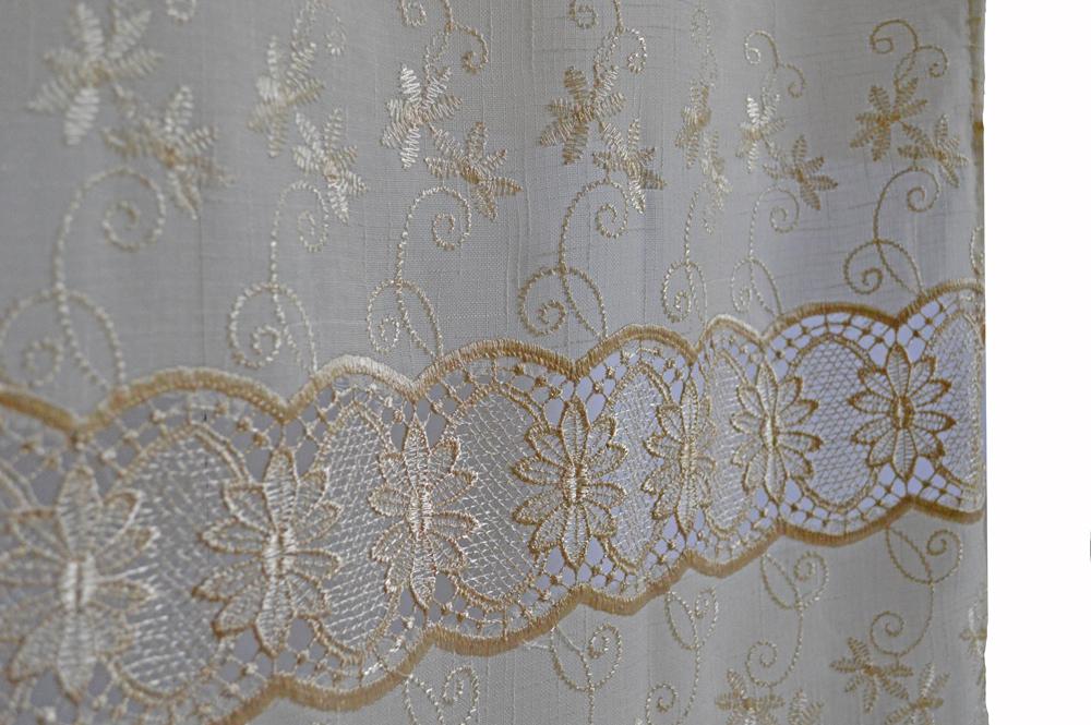 Tenda classica tende macram tipo lino lavorato arredo for Tende casa classica