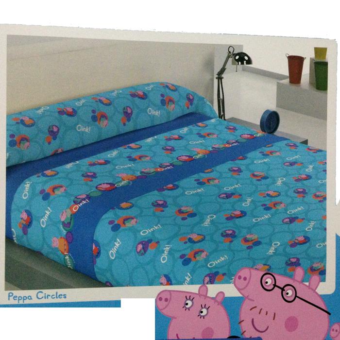 Completo lenzuola peppa pig george un posto letto singolo in cotone ebay - Completo lenzuola letto singolo ...