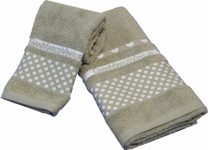 Set asciugamani bagno viso ospite 1 1 gian marco venturi - Asciugamani bagno offerte ...